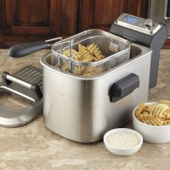breville counter top electric smart fryer