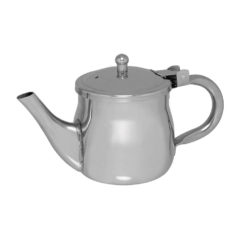 UPDATE INTERNATIONAL 10 OZ STAINLESS STEEL GOOSENECK TEAPOT