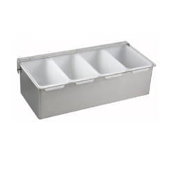 Crestware 4 Compartment Condiment Dispenser