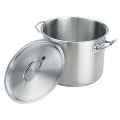 12QT STAINLESS STEEL STOCK POT