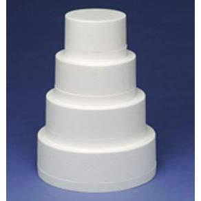 9x4 Inch Round Cake Dummy