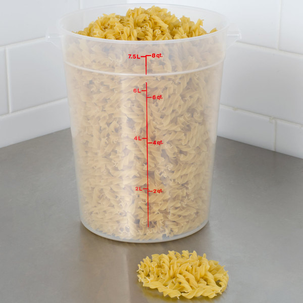 cambro 8qt round food container