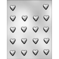 7/8 INCH HEART HARD CANDY MOLD
