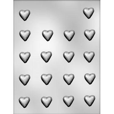7/8 INCH HEART HARD CANDY MOLD