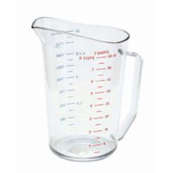 CAMBRO 2 QUART MEASURING CUP
