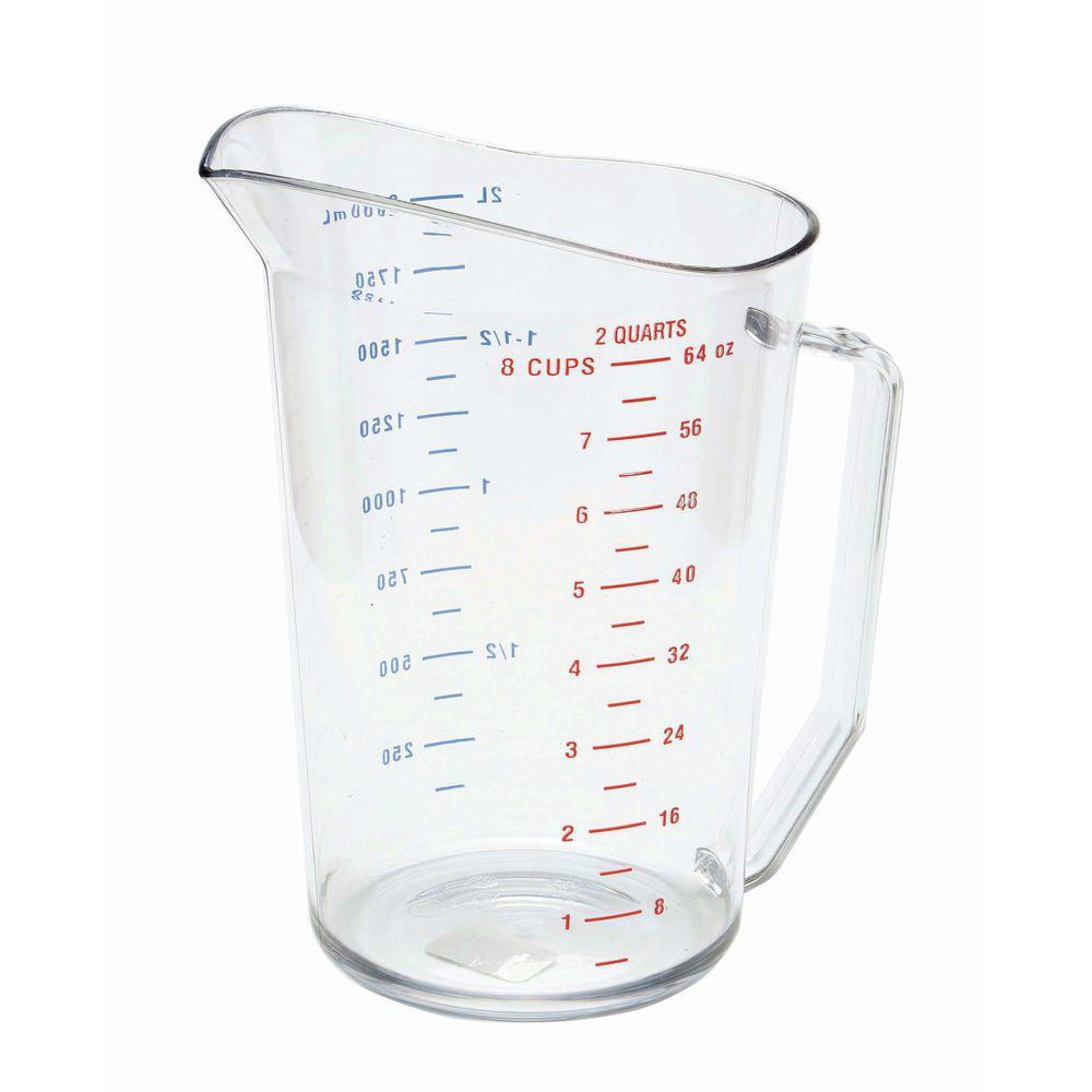 CAMBRO 2 QUART MEASURING CUP