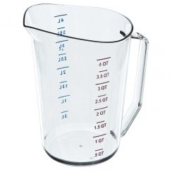 CAMBRO 4 QUART MEASURING CUP
