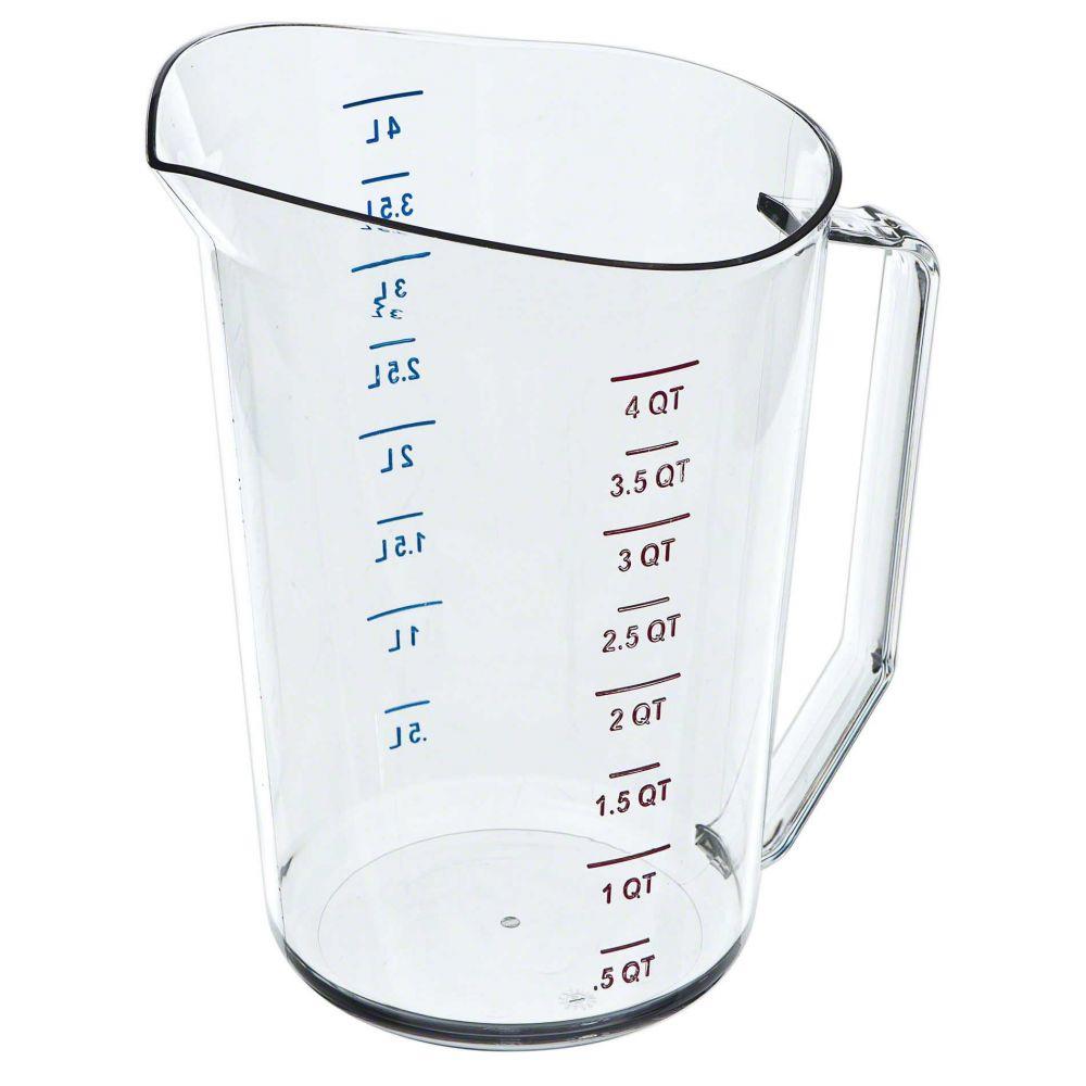 CAMBRO 4 QUART MEASURING CUP