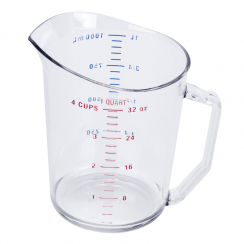 CAMBRO 1 QUART MEASURING CUP