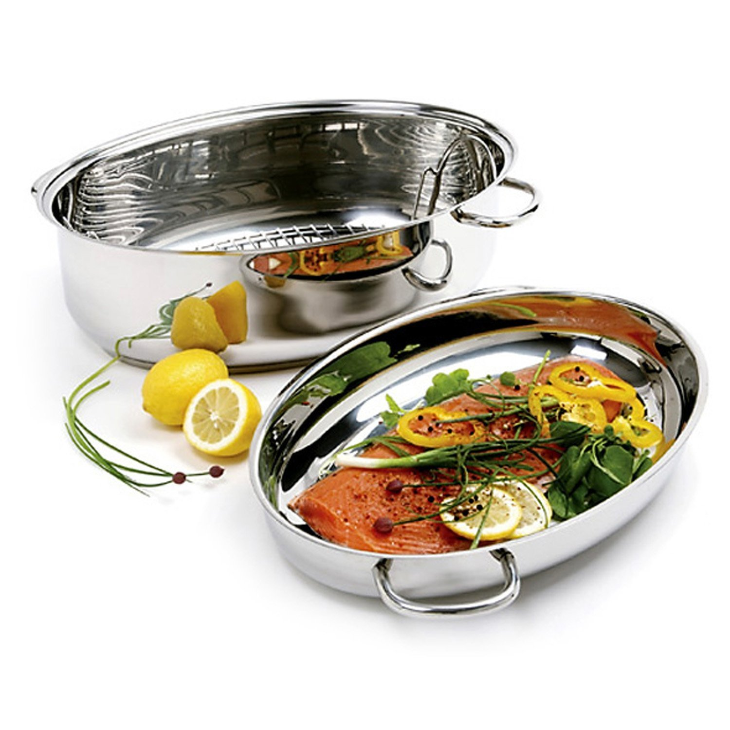 NORPRO 8 QT STAINLESS STEEL ROASTER