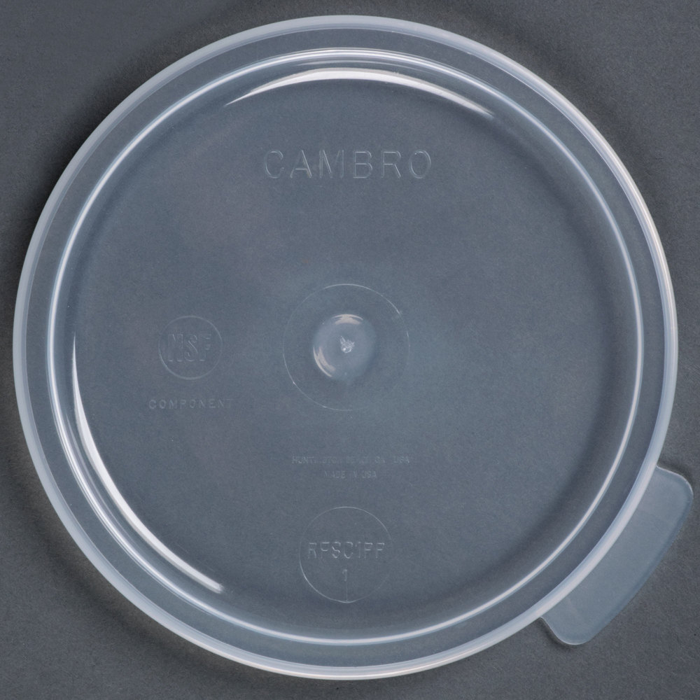 cambro 1qt round food container lid