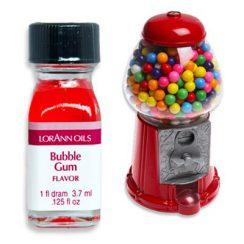 1 dram bubble gum lorann flavoring oil