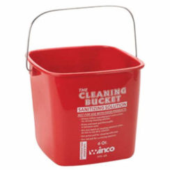 6 QT BLEACH BUCKET