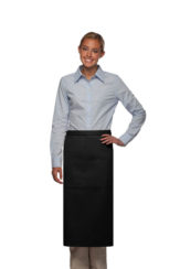 BLACK DAYSTAR APPAREL THREE POCKET BISTRO APRON