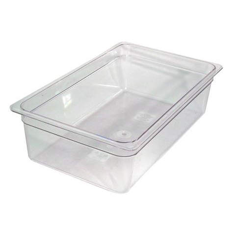 cambro full x 6 inch clear food pan