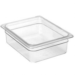 cambro half x 4 inch clear food pan