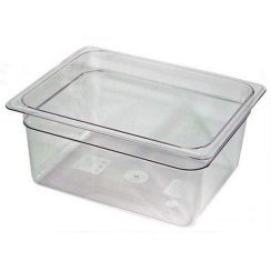 cambro half x 6 inch clear food pan