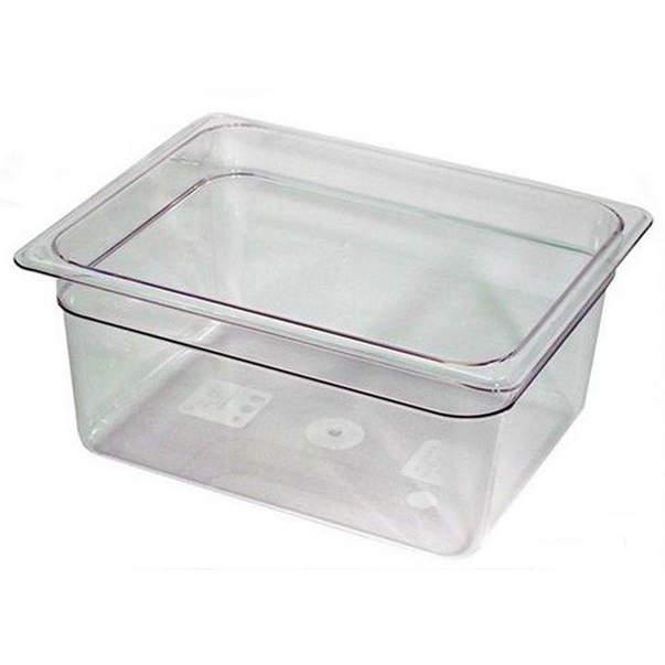 cambro half x 6 inch clear food pan