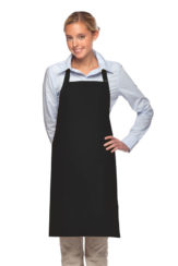 BLACK DAYSTAR APPAREL TWO POCKET BIB APRON