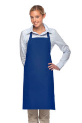 ROYAL BLUE DAYSTAR APPAREL TWO POCKET BIB APRON