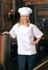 WHITE DAYSTAR APPAREL CHEF HAT