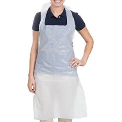 DISPOSABLE POLY APRON