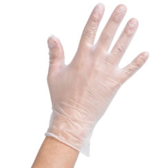 X-LARGE VINYL GLOVES
