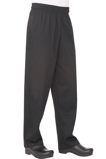 CHEF WORKS EXTRA LARGE BLACK BAGGY CHEF PANT