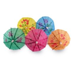 WINCO PAPER UMBRELLAS 144 COUNT