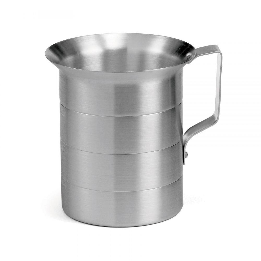 4 QUART ALUMINUM MEASURING CUP
