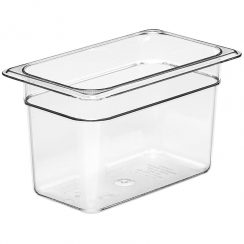 cambro 1/4 x 6 inch clear food pan