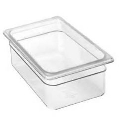 cambro 1/4 x 4 inch clear food pan