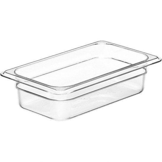 cambro 1/4 x 2 1/2 inch clear food pan