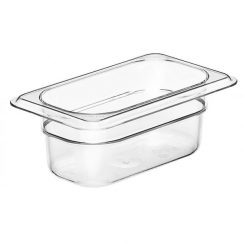cambro 1/9 x 2 1/2 inch clear food pan