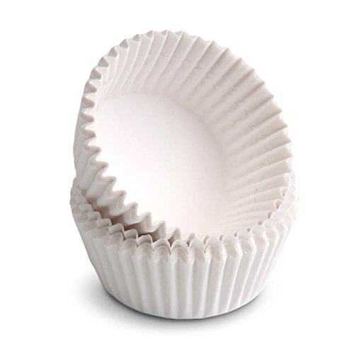 100 COUNT WHITE MINI CUPCAKE LINERS