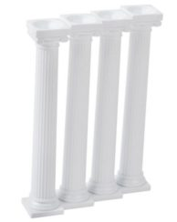 "5"" GRECIAN PILLARS, 4 PACK"