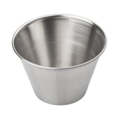 4 OZ STAINLESS STEEL CONDIMENT CUP