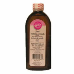 WILTON 8 OZ CLEAR VANILLA EXTRACT