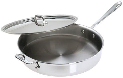 ALL-CLAD 6QT STAINLESS STEEL SAUTE PAN