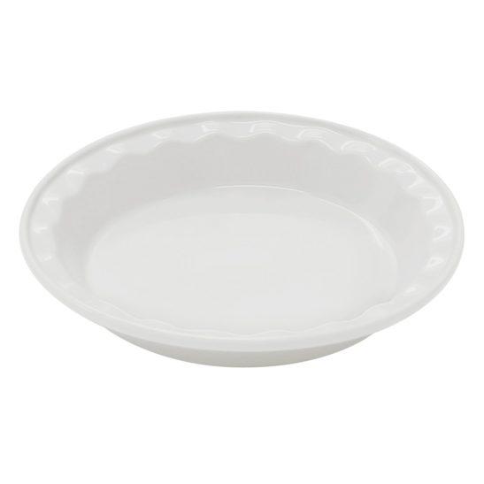 CHANTAL 9.5 INCH DEEP PIE DISH WHITE