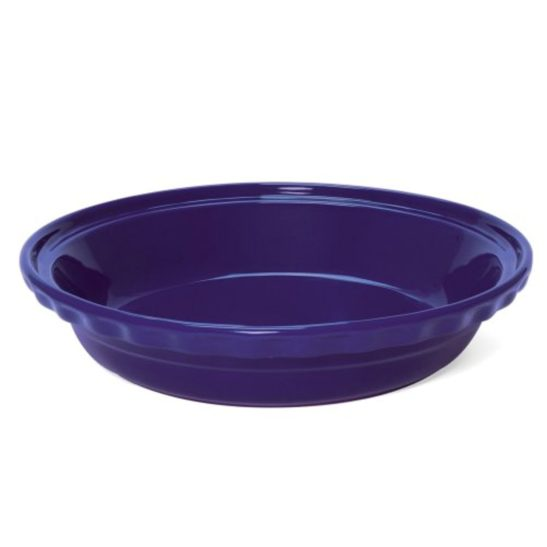 CHANTAL BLUE 9.5 INCH DEEP PIE DISH