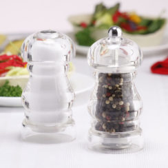 CHEF SPECIALTIES LAUREL ACRYLIC PEPPER MILL SET