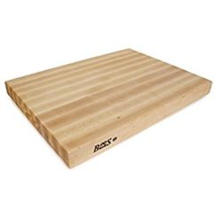 JOHN BOOS 20X15X2.25 INCH WOOD CUTTING BOARD