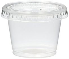 LID FOR 1 OZ PORTION CUP