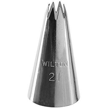 wilton 21 open star decorating tip