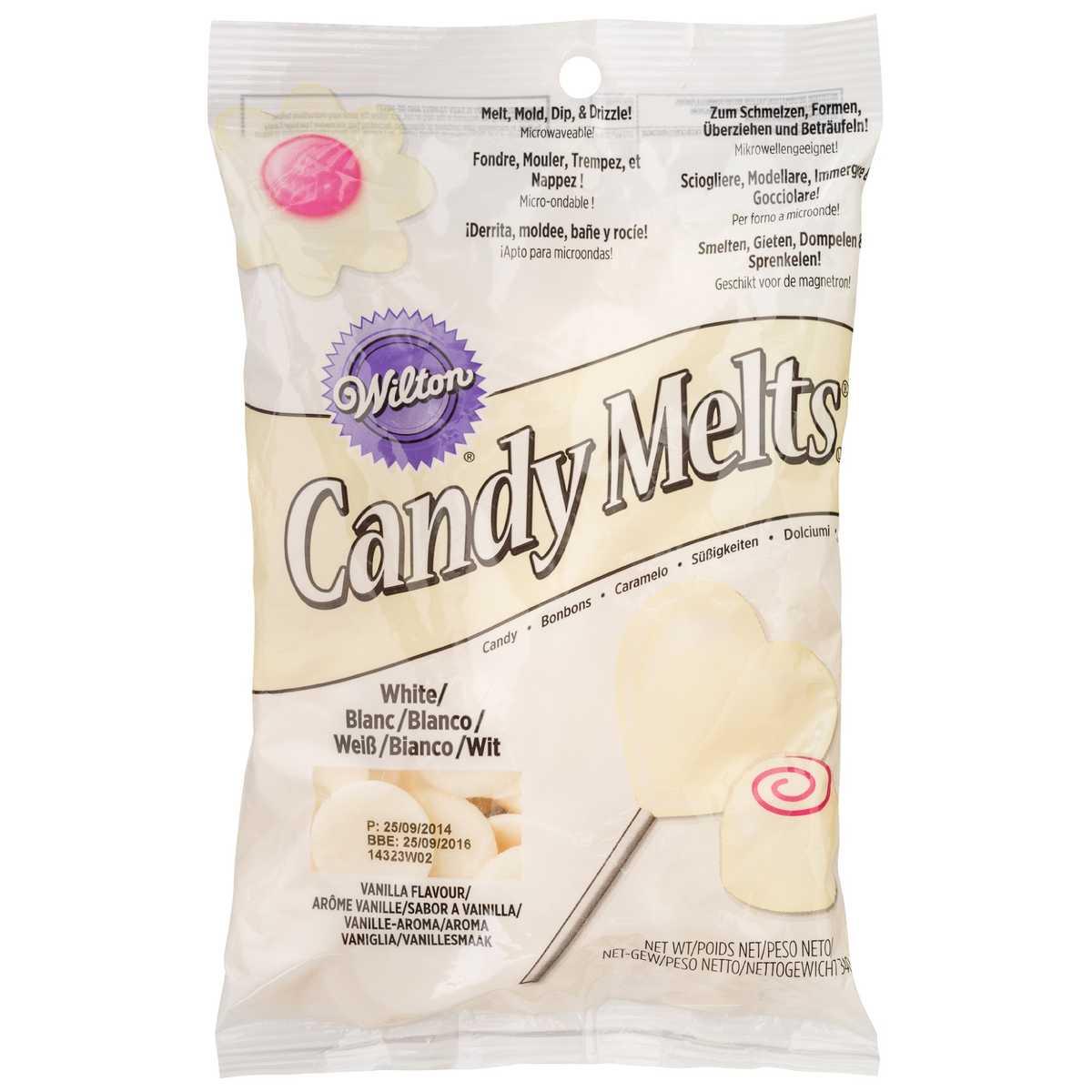 Chocolate Nonpareils White Dunmore Candy Kitchen: WILTON WHITE CANDY MELTS