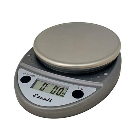 ESCALI PRIMO 11 LB NSF METALLIC DIGITAL SCALE