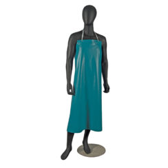 green vinyl dish washing apron