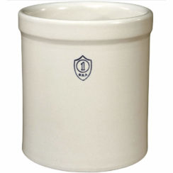 OHIO STONEWARE 1 GALLON CROCK BRISTOL