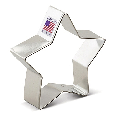 2 3/4 Inch Small Star Cookie cutter
